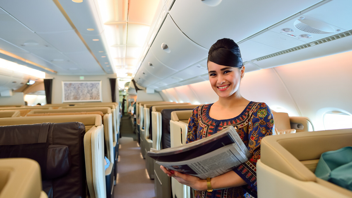 singapore airline business class